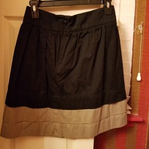 Two toned skirt